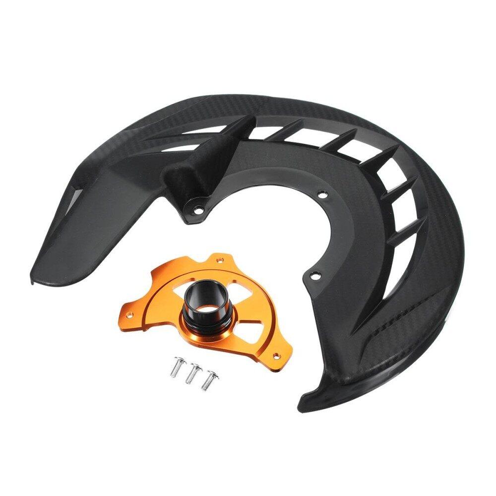 Rem Depan Sepeda Motor Disc Penjaga Rotor Pelapis Rem Pelindung Rem untuk KTM 125-530 SX/SXF/XC/XCF 03-14 125-530 EXC/Excf 03-15-Intl
