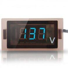 Motorcycle Waterproof Digital Voltmeter (blue) By Sonic View.