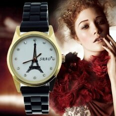 MUGE Fashion Ceramics Round Dial Bracelet Table Women 's Watches BK
