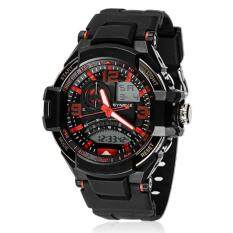 Multi Function Military Digital LED Quartz Sports Watch Waterproof RD Malaysia
