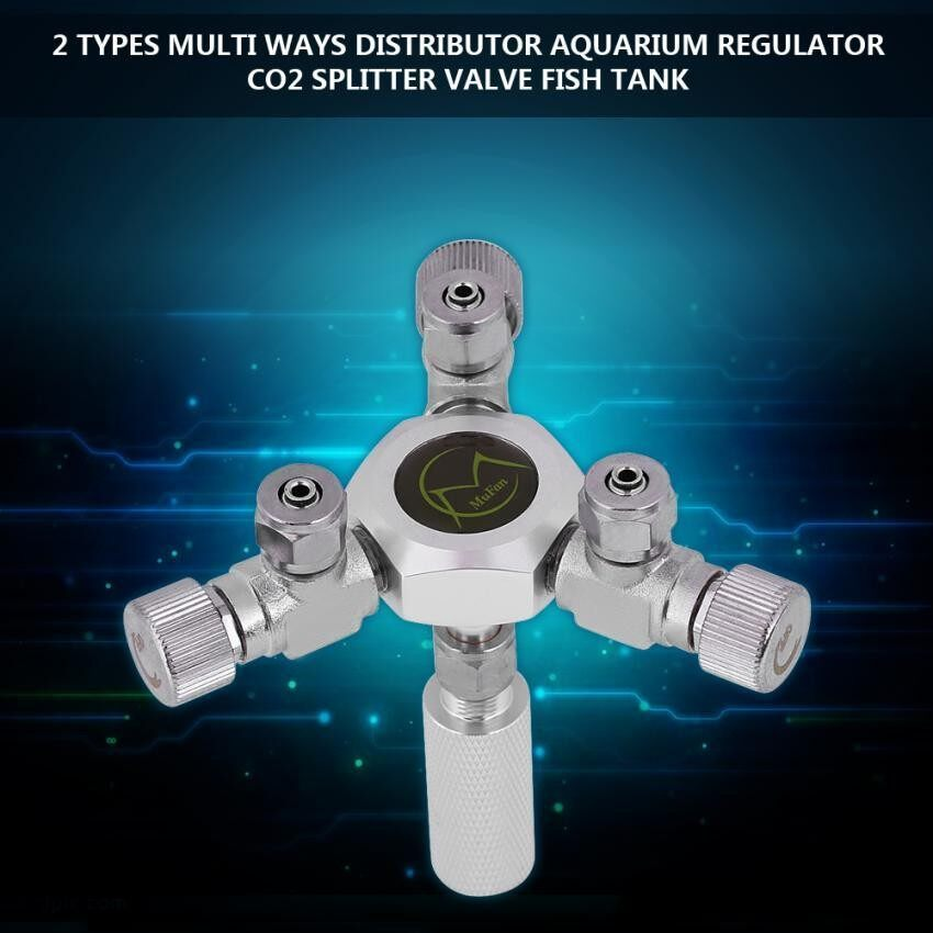 Price Multi Ways Distributor Aquarium Regulator Co2 Splitter Valve Fish Tank 3 Way Intl On China