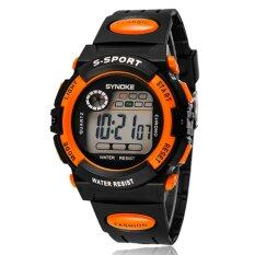 Multifunction Waterproof Child Boy Girl Sports Electronic Wrist Watch - Intl Malaysia