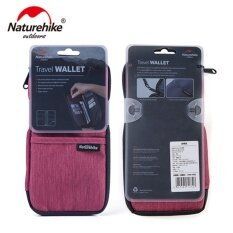 NatureHike Multi Function Outdoor Bag for Cash, Passport, Card Multi Using Travel Wallet NH17C001-B