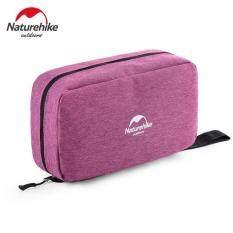 Naturehike Travel Wash Bag Outdoor Portable Folding Travel Unisex Storage Bag Waterproof Cosmetic Bag (purple) By Mubai Trading.