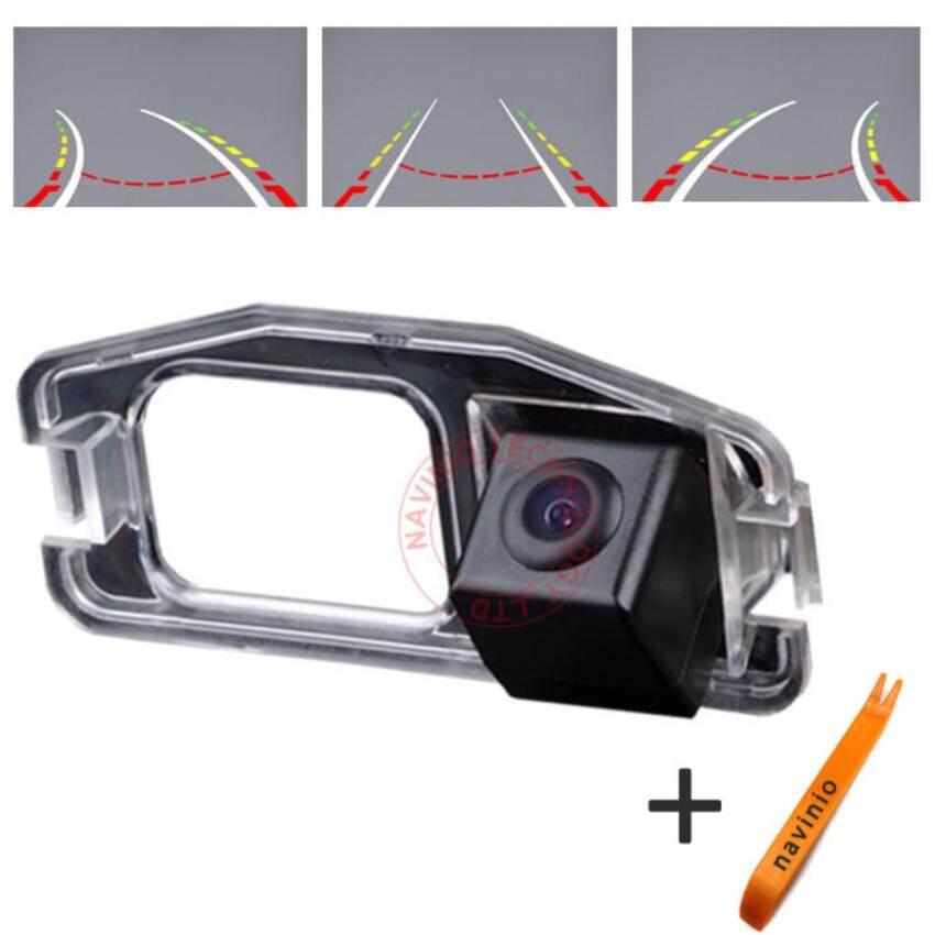 Navinio CCD Kendaraan Mobil Track Parkir Direktif Assistancereversing Lintasan Kembali Kamera Belakang untuk Honda CRV Jazz Fitodyss-Intl