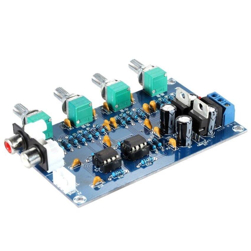 Sale Ne5532 Stereo Pre Amp Preamplifier Tone Board Audio 4 Channelsamplifier Board Intl Oem On China