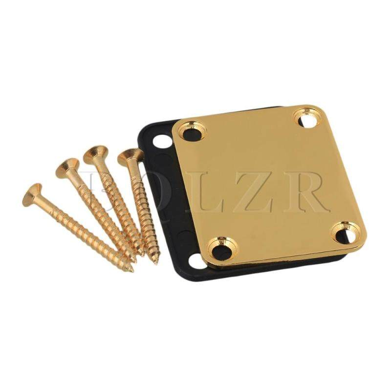 Neck Plate w/ Screw For Guitar Gold Malaysia