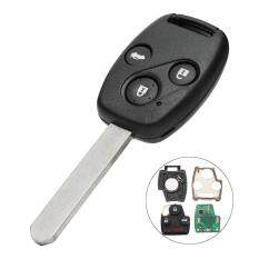 New 3 Buttons 433mhz Id48 Remote Key Fob W/ Blade For Honda Accord Crv 03-05 By Teamwin.