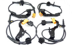 4Pcs ABS Wheel Speed Sensor FL FR RR RL For Honda CRV MK 57475S9A013,57470S9A013