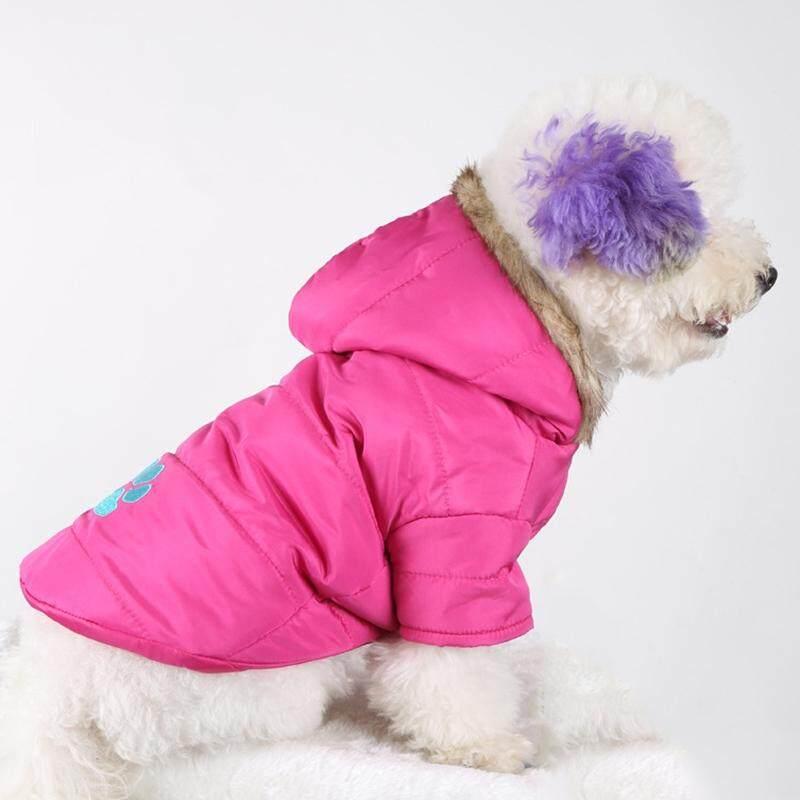 Baru Musim Gugur dan Musim Dingin Gaya Peliharaan Anjing Bordir Menebal Hangat Kapas Garment Ukuran: