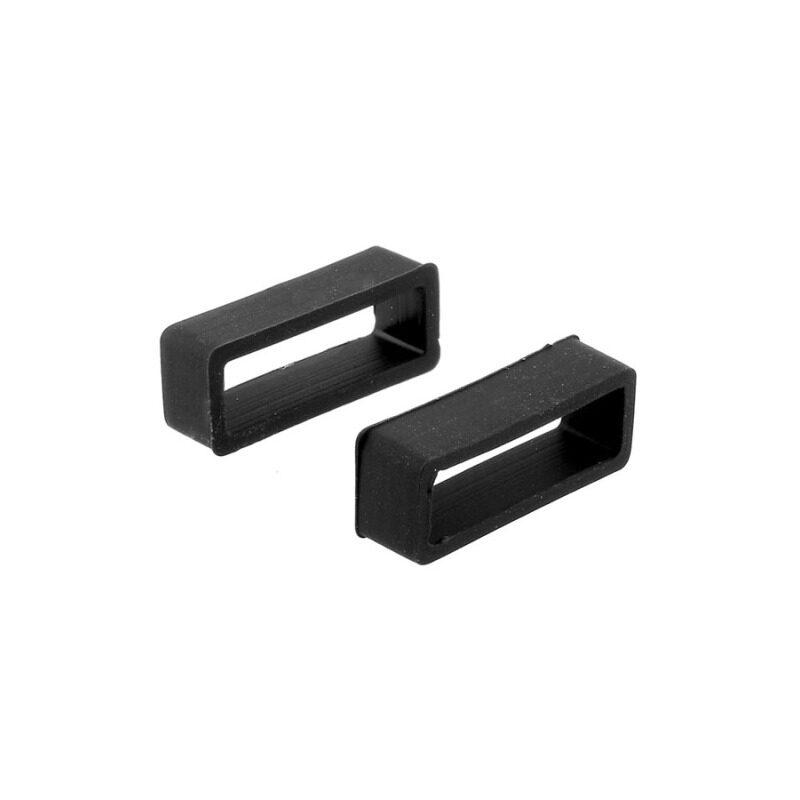 New Black Silicone Watch Strap Hoop Loop Retainer Buckle Holder Locker Malaysia