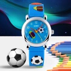 New Cartoon Cute Quartz Watch for Children Kids Boys Girls Waterproof Football Barbie Soft Silicone Band 1047 Malaysia