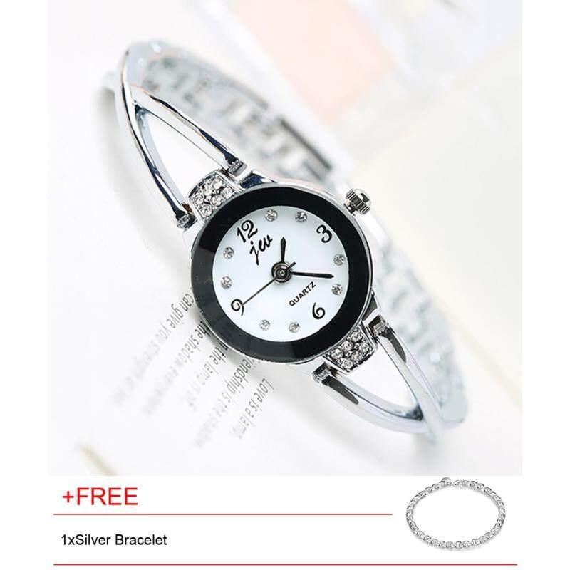 100% Genuine NEW fashion watch Top design simple style wrist watch for beautiful girl Malaysia