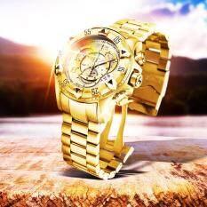 New Fashion Womens Luxury Mens Quartz Watch Repogios Subaqua Masculino INVIC Watch Malaysia