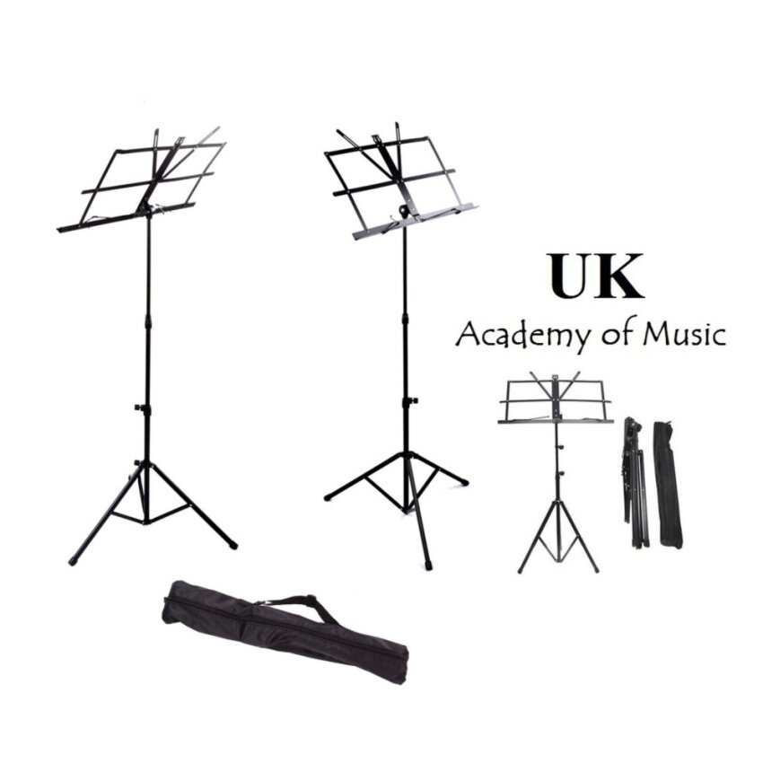 New Foldable Music Stand for Guitar, Ukulele, Violin With Free Bag