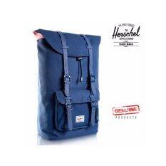 433e92160a4 New Herschel Supply Co. Little America Laptop Backpack Larger Volume-Navy  Blue