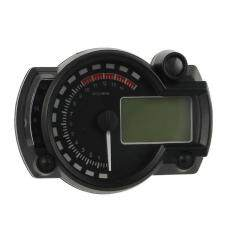 New Lcd Digital Backlight Motorcycle Odometer Speedometer Tachometer Mph Gauge By Greatbuy666.
