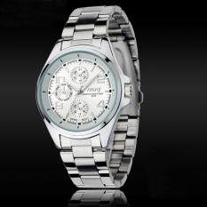 New Luxury Men Stainless Steel Classical Quartz Analog Wrist Watch WH Malaysia