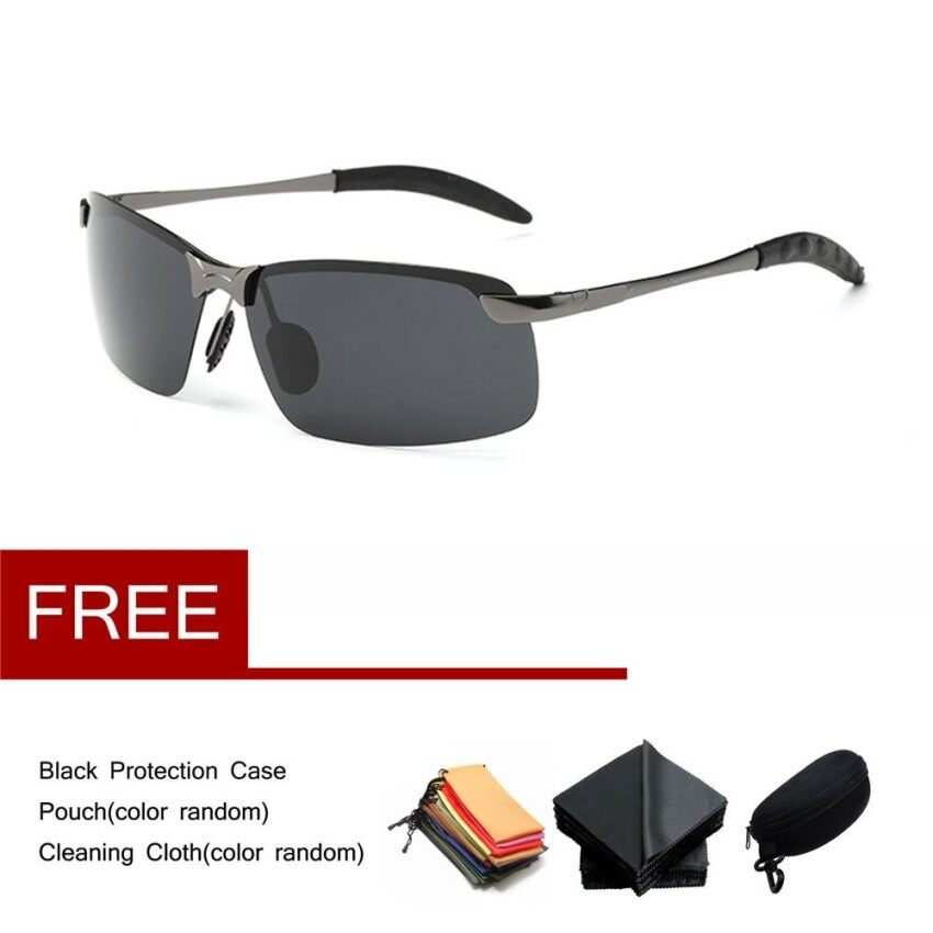 47f761cd84a New Polaroid Sunglasses Men Polarized Driving Sun Glasses Mens Sunglasses  Designer Fashion