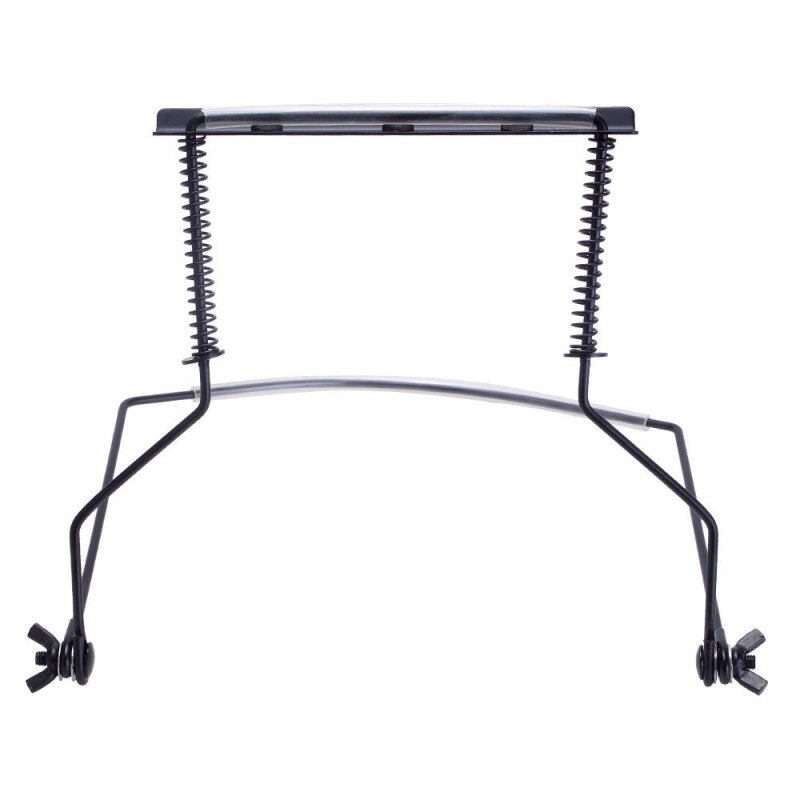 niceEshop 10 Hole Harmonica Holder Stand for Hands-free Playing Perfectly Fit for Harmonica Lovers (Black) Malaysia