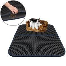Niceeshop Cat Litter Mat Honeycomb Super Size Rectangular 29.5 X 21.65 With Waterproof Base Layer By Nicee Shop.