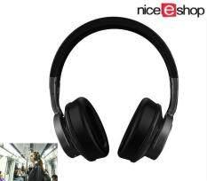 Niceeshop Fashion Lipat Nirkabel Bluetooth Suara Earphone Membatalkan Stereo Atas Telinga Headset untuk Pesawat Perjalanan