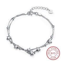NiceTop Sterling silver fashion bracelets Bracelet fashion bracelet Charm Bracelet cicret bracelet for Women