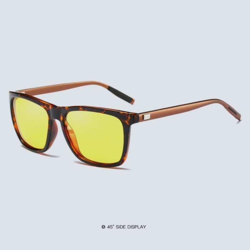 Kmdshxns Kacamata Penglihatan Malam Wanita Pria Kacamata Hitam Corak Macan  Tutul Unisex Hari 387 dfb2f722e9