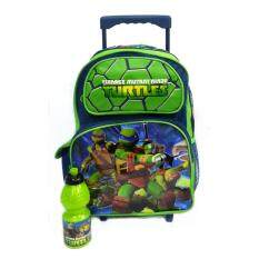 Ninja Turtle Primary School Trolley Bag Set By Kidstore.