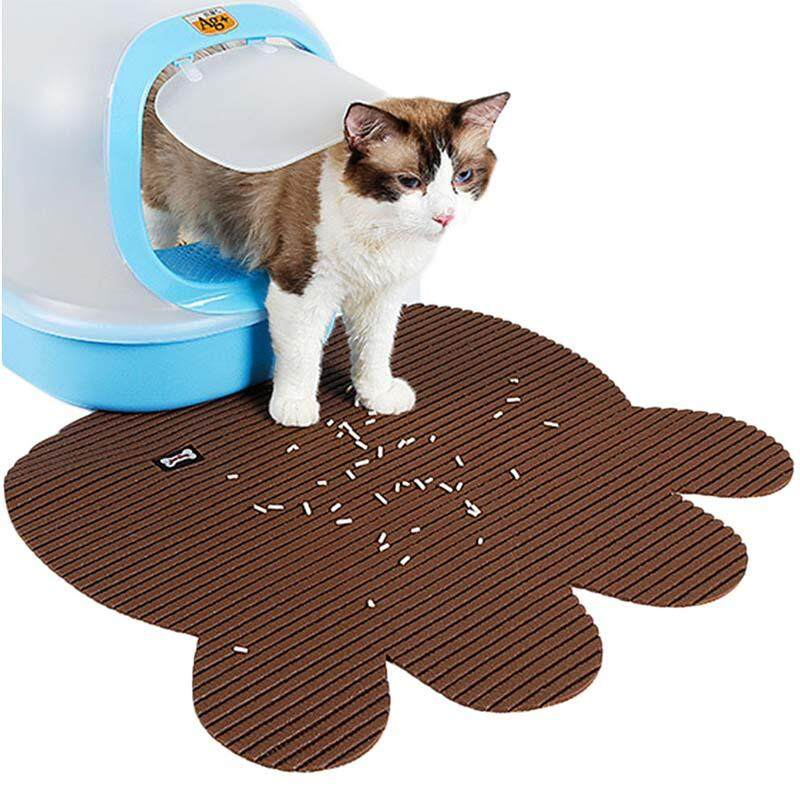 Cat Litter Trapper Mat Clean Cat Mat With Non Slip Pet Dog Tray Mat By Ythome.