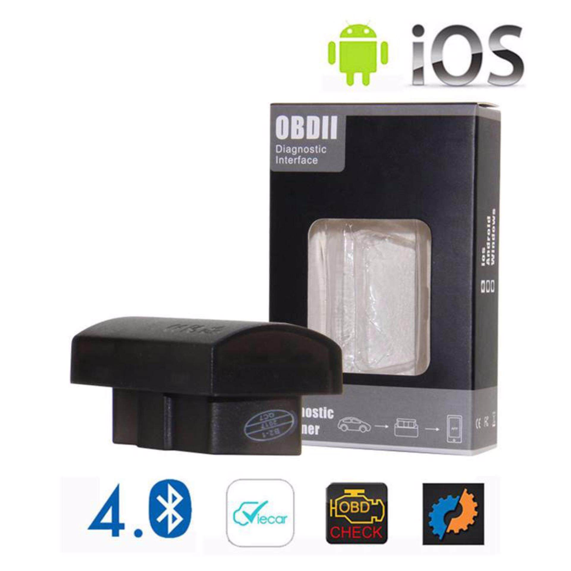 OBD2 Bluetooth 4 0 diagnostic interface support IOS Adroid auto code reader  car scanner