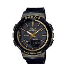 (OFFICIAL MALAYSIA WARRANTY) Casio Baby-G BGS-100GS-1A STEP TRACKER Resin Womens Watch (Black & Gold) Malaysia