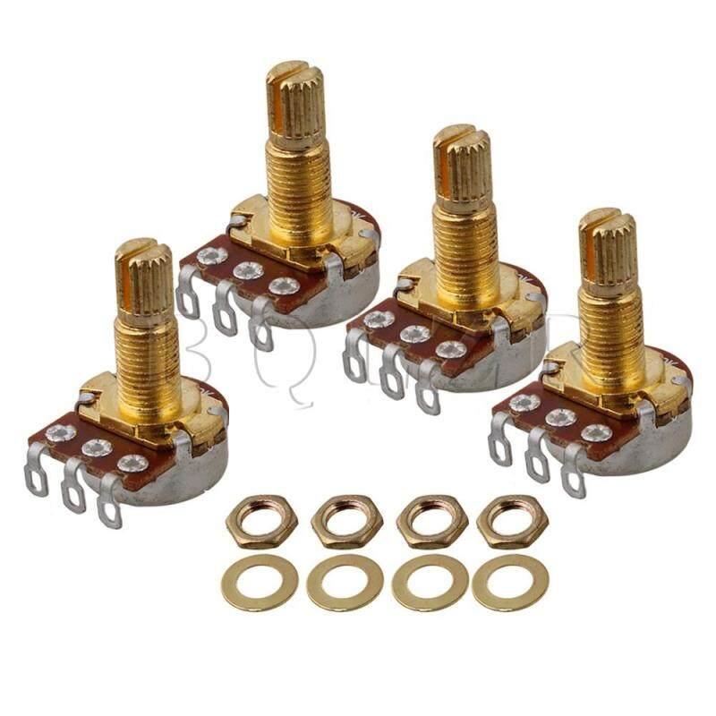 OHM Audio Volume guitar potentiometers Set of 5 Silver+Gold Malaysia