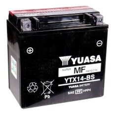 Original Yuasa Ytx14-Bs Made In Japan By Butikmiazara.
