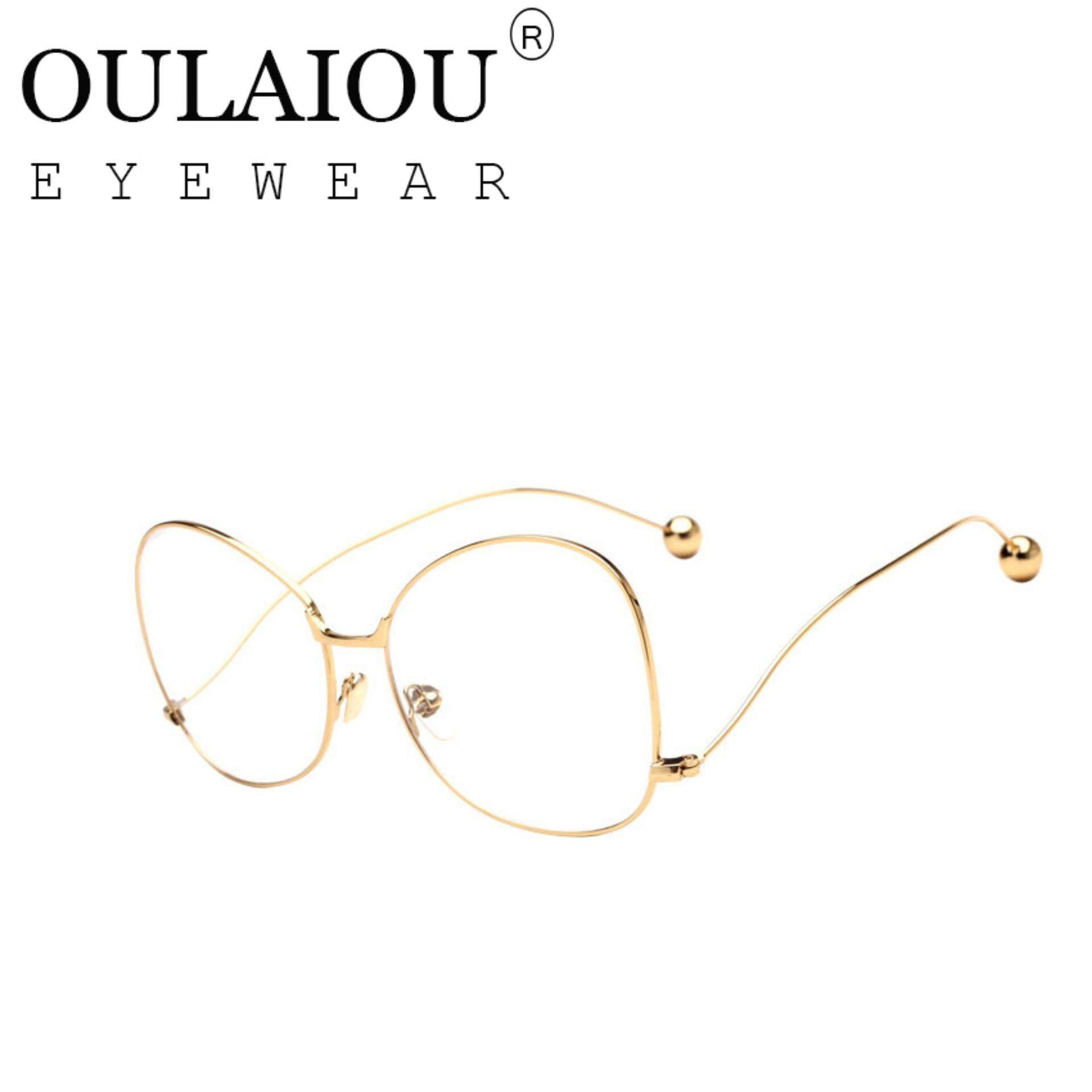 TIANYOU JD Oulaiou Fashion Accessories Anti-fatigue Trendy Eyewear Reading Glasses OJ1528 - intlIDR192000.