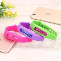 Harga Outdoor Non Toxic Silicone Mosquito Repellent Bracelets Natural Plant Oils Anti Mosquito Wristband For Adults