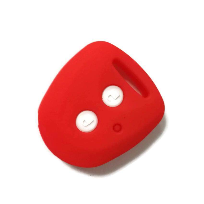 Perodua Axia Remote Car Key Silicone Cover Casing (Red)