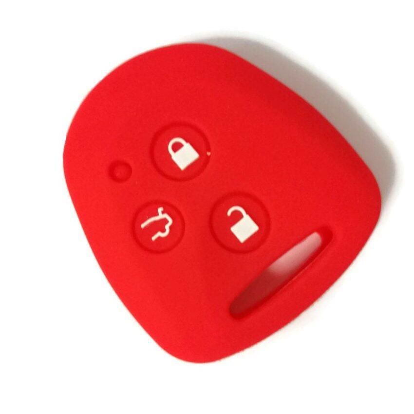 Perodua Bezza Remote Car Key Silicone Cover (Red)