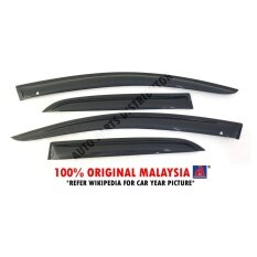 Perodua Kelisa 2001–2007 AG Door Visor Air Press Wind Deflector (Small 7cm  Width d63352dd0af