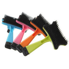 Pets Dog Cat Supplies Grooming Hair Brushes Dog Comb Cleaner Brush Tool By Warm Light.