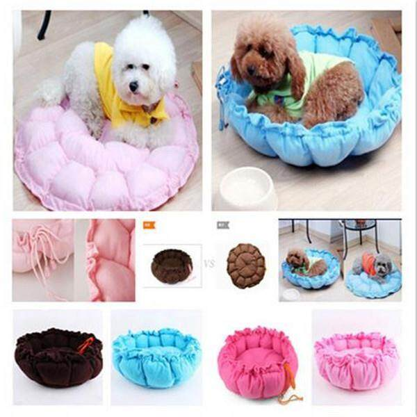 Pet Dog Bed Puppy Cushion House Winter Soft Warm Kennel Mat Pad Supplies