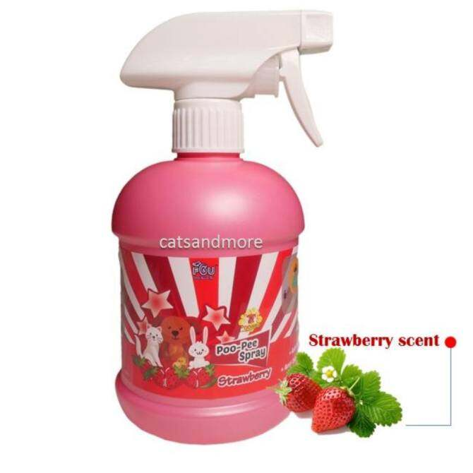 Pet Odors Eliminator Poo Pee Spray (500ml) Strawberry