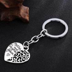 Phoenix B2c Mother And Daughter Forever Hollow Heart Key Ring Mothers Day Gift Keychain By Phoenix B2c Llc.