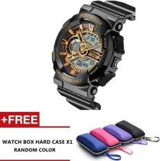 Pirelli Multi Function Digital LED Water Resistant Watches Outdoor Sport Electronic Watches (Gold) Malaysia