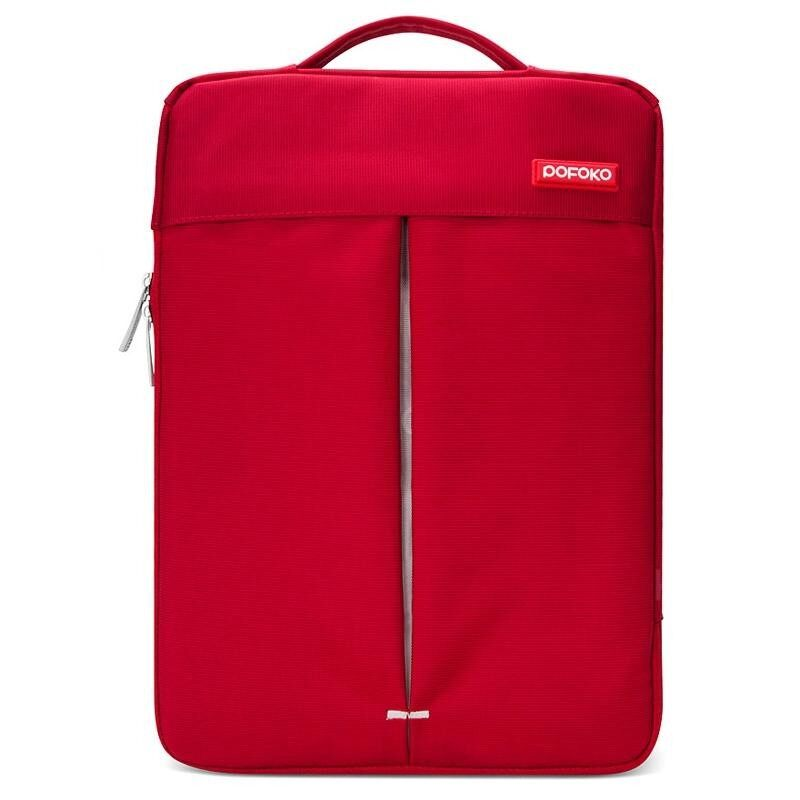 Pofoko Bergaya 13.3 Inch Portabel Satu Bahu Kualitas Nilon Kain Anti Udara Tas Laptop Anda Laptop