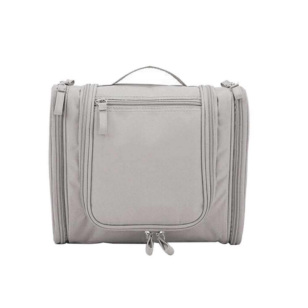 Eyqtous Portable Alat Mandi Gantung Tas Tahan Air Perjalanan Kit Tas Tas Alat Mandi Gantung Organizer