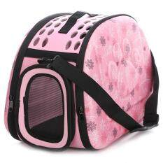 Portable Pet Handbag Carrier Comfortable Travel Carry Bags For Cat Dog Puppy Small Animals Color:pink Specification:medium 42 * 28 * 30 By Danlong Store.