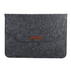 Epayst Portable Soft Laptop Sleeve Cover Anti-Scratch Bag For (15inch Dark Grey) By Epayst.