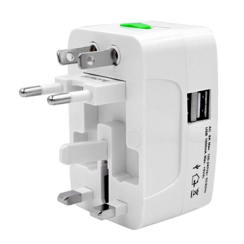 GFW Portable Universal International Travel Charger Power Socketadapter Converter Us Uk Au Eu Plug With Dual