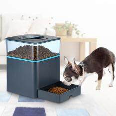 Programmable 4.5l Lcd Automatic Feeder For Cat Dog With Remote Control Pet Dry Food Dispenser Dish Bowl 1-3 Meal/day + Voice Recording By Koko Shopping Mall.